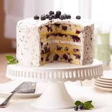 wedding cake recipes berry blueberry lemon cake recipe land o lakes