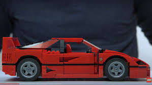 lego ferrari lego releases official ferrari f40 comes with bespoke pieces