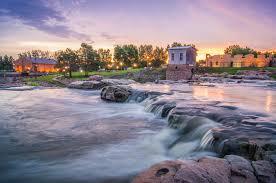 South Dakota travel merry images Landscape shot of sunrise at falls park in sioux falls sd 605 jpg