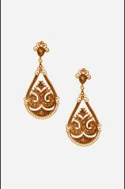 danglers earrings design dangler earrings golden tribal danglers online shopping india