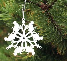 tree ornament cat snowflake peppersprouts