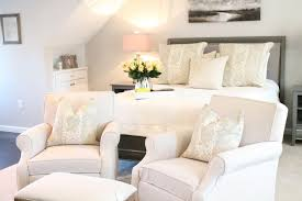 13 chairs for master bedrooms with photo examples 2 plush reading chairs at the end of a bed