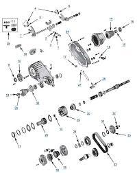 zj grand cherokee np242 transfer case 4 wheel parts