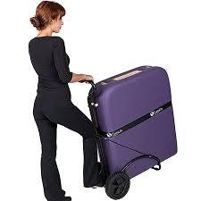 earthlite massage table bag earthlite traveler massage table cart with large wheels