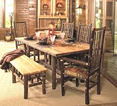 Rustic Dining Room Table Amazing 50 Rustic Dining Room Table Sets Design Ideas Bench Ideas