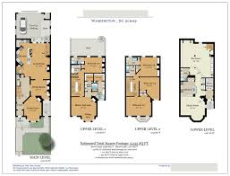 100 townhouse floor plans floor photos of three story floor