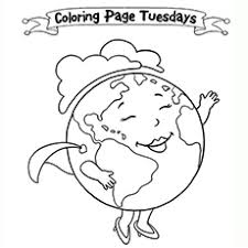 20 free printable earth coloring pages
