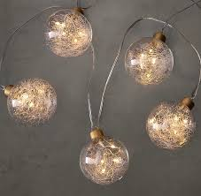 globe string lights small gold