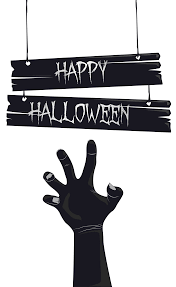 happy halloween clipart happy halloween with grave hand png image gallery yopriceville