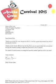 Sponsorship Letter For Sports Event Heart Of England Dog Shows