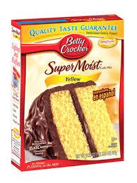 betty crocker yellow cake mix 15 oz u2014 meusu