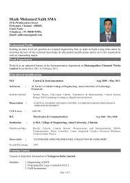 Sample Engineering Resume by Instrumentation Design Engineer Sample Resume 5 Hvac Mechanical