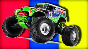 monster truck cartoon videos monster truck hummer taxi truck cartoon for kids cars for