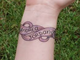 wrist name tattoo ideas