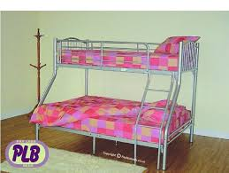Valencia Metal Bunk Bed Sleeperaffordable Price Pay Less Beds - Three sleeper bunk bed