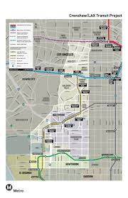 Map Of Los Angeles Metropolitan Area by And So It Begins Ground Is Broken For 8 5 Mile Crenshaw Lax Line