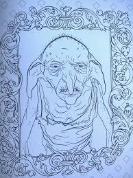 check u0027harry potter u0027 magical creatures coloring book