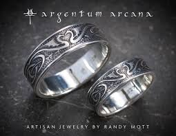 celtic wedding ring sets wedding ring set silver celtic wedding bands unique