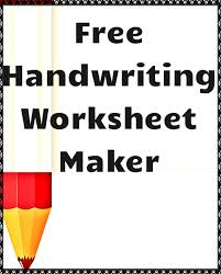 best ideas of handwriting maker free worksheets in cover letter