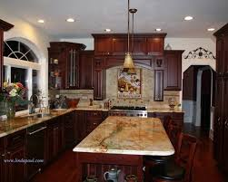 Agreeable Cherry Cabinet Kitchen Designs Photo Of Dining Room - Cherry cabinet kitchen designs