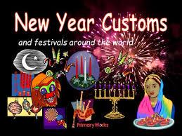 new year customs around the world