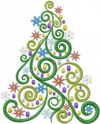 swirl tree embroidery designs machine embroidery