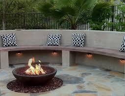 Modern Firepit Modern Pit Gas Design And Ideas