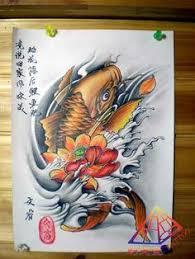colorful japanese lotus tattoo design tetování pinterest