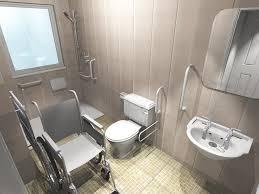 Handicap Accessible Bathroom Floor Plans Gorgeous Accessible Bathroom Design Ideas With Handicap Bathroom