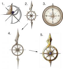 best 25 compass design ideas on compass arrow