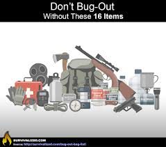 ultimate bug out vehicle urban survival don u0027t bug out without these 16 items survivalized