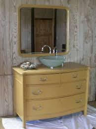 Antique Dresser Vanity Beautiful Antique Dresser Bathrm Vanity W Vessel Sink Antique