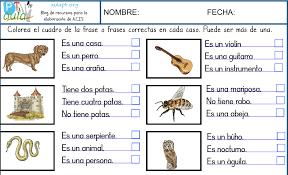 imagenes para colorear y escribir oraciones nueva serie de fichas para trabajar la comprensión lectora de frases