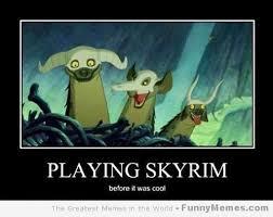 Funny Skyrim Memes - inspirational funny skyrim memes funny memes playing skyrim before