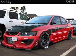 mitsubishi cedia modified evolution