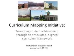 Curriculum Mapping Ppt Curriculum Mapping Initiative Powerpoint Presentation Id