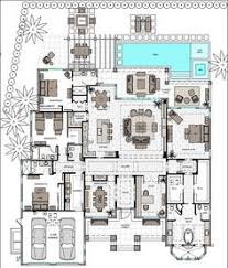Floor Plan Of 4 Bedroom House Long Narrow House With Possible Open Floor Plan For The Home