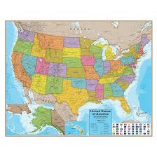 map usa map world products hemispheres usa map target
