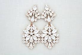 wedding earrings chandelier gold chandelier earrings for wedding eimat co