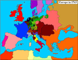 map of all the countries in europe 1763 maps