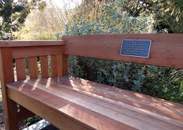 memorial benches honoring loved ones with a memorial bench support mcbg inc