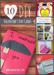 s day cards for classmates 10 diy s day cards a s take