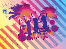 Tropical Party Themes - tropical dance party