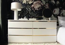 Diy Ikea Diy Vintage Style Gold Dresser Preciously Me