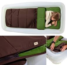 The shrunks outdoor toddler travel bed sleeping bag bundle