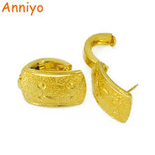 arabian earrings anniyo arabian earrings for women s gold color dubai earring stud