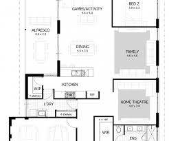 4 bdrm house plans appealing four bedroom house plans 4 bedroom ranch house within 4