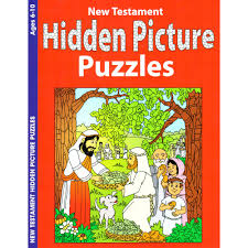 new testament hidden pictures coloring and activity book ages 6