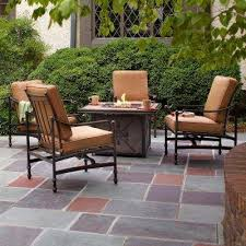 Home Depot Patio Table And Chairs Pit Sets Outdoor Lounge Furniture The Home Depot Throughout