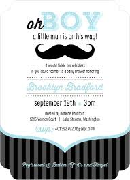 boy baby shower invitations blue and black moustache boy baby shower invites baby shower ideas